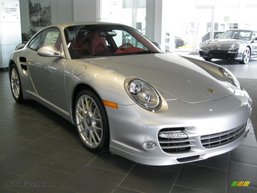 2011 Porsche 911 Turbo S Coupe In Silver Metallic Paint To