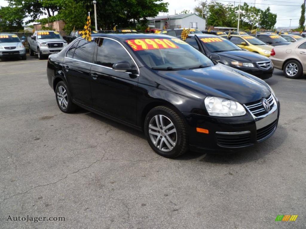 volkswagen jetta  sedan  black  auto jaeger german cars  sale
