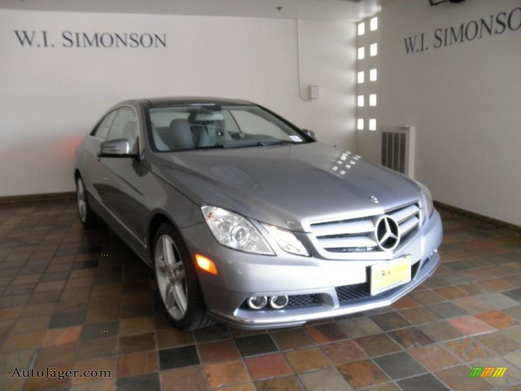 2011 mercedes benz e 350 coupe in palladium silver for Simonson mercedes benz