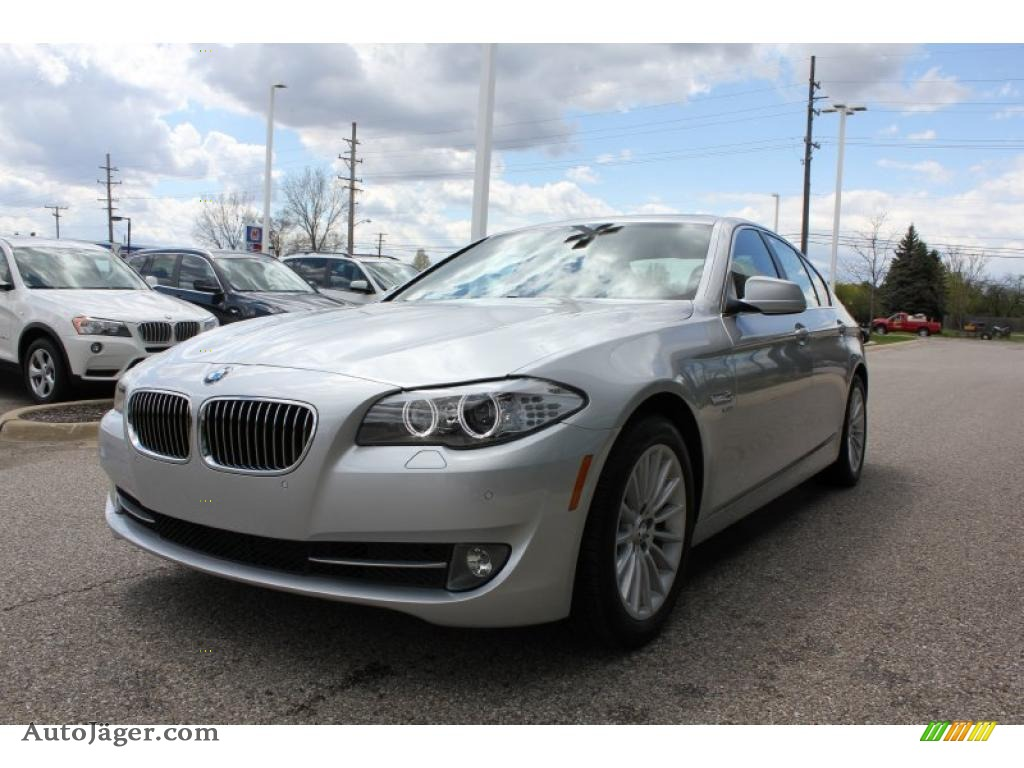2011 Bmw 5 Series 535i Xdrive Sedan In Titanium Silver