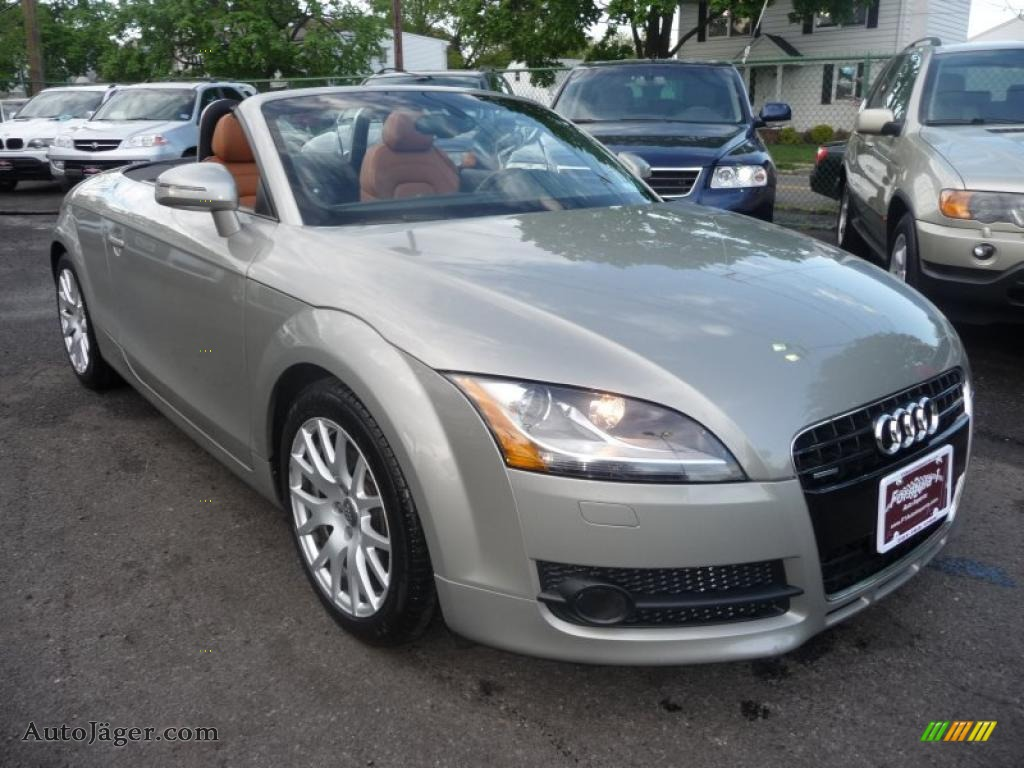 2008 audi tt 3 2 quattro roadster in sahara silver metallic 033344 auto j ger german cars. Black Bedroom Furniture Sets. Home Design Ideas