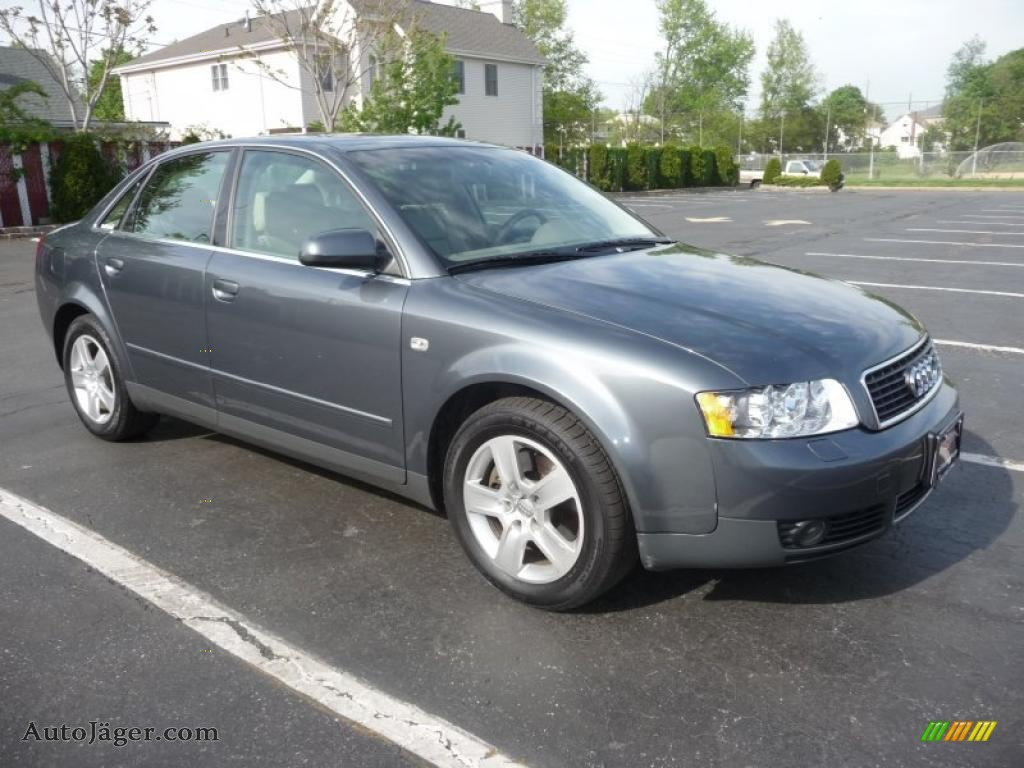 2002 audi a4 3 0 quattro sedan in dolphin grey pearl. Black Bedroom Furniture Sets. Home Design Ideas