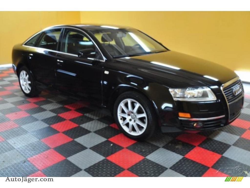 2005 Audi A6 3 2 Quattro Sedan In Brilliant Black 078092