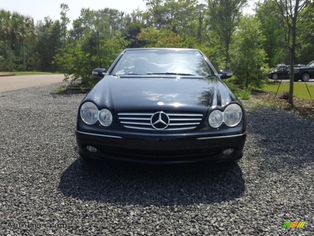 2005 mercedes benz clk 320 cabriolet in black photo 8 for 2005 mercedes benz clk 320