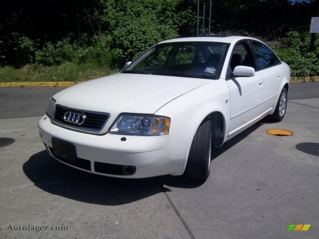1999 Audi A6 2 8 Quattro Sedan In Casablanca White