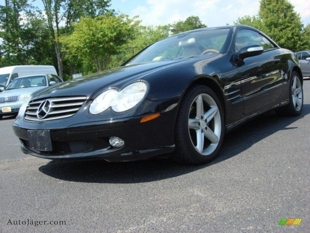 2005 mercedes benz sl 500 roadster in black 098836 for Tysinger motors used cars