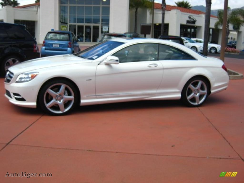 2011 mercedes benz cl 550 4matic in diamond white metallic for Mercedes benz cl 300 for sale