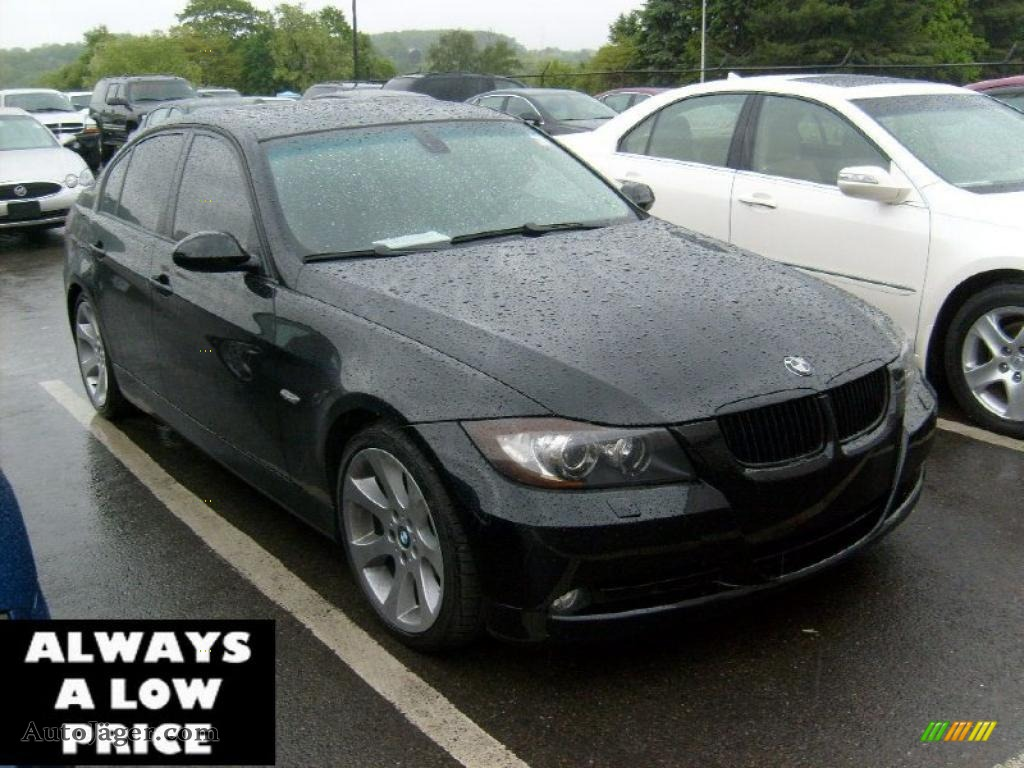 2007 bmw 3 series 335i sedan in jet black v75132 auto. Black Bedroom Furniture Sets. Home Design Ideas