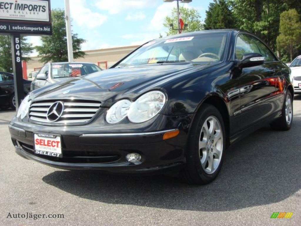 2003 mercedes benz clk 320 coupe in black photo 4 for 2003 mercedes benz clk 320