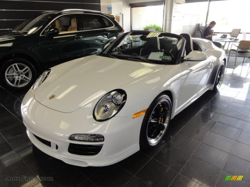 2011 Porsche 911 Speedster In Carrara White 795605