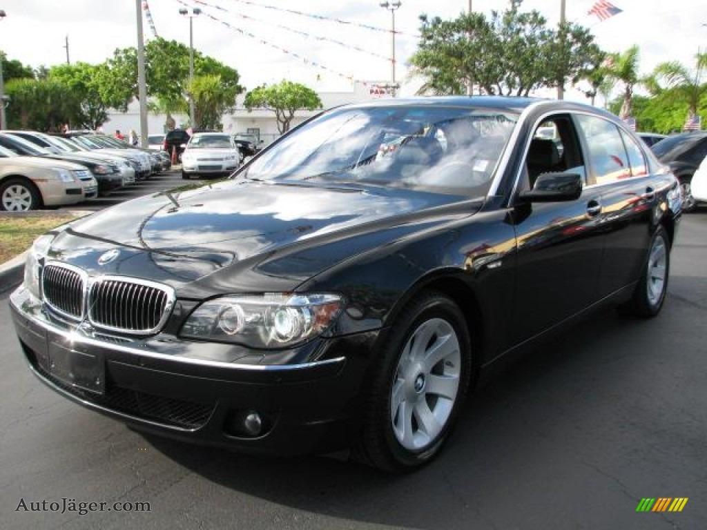 2008 bmw 7 series 750li sedan in jet black t86755 auto j ger german cars for sale in the us. Black Bedroom Furniture Sets. Home Design Ideas
