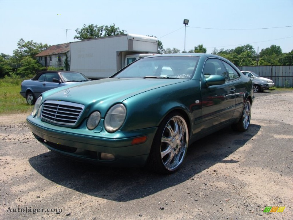 1998 mercedes benz clk 320 coupe in mineral green metallic for 1998 mercedes benz clk 320