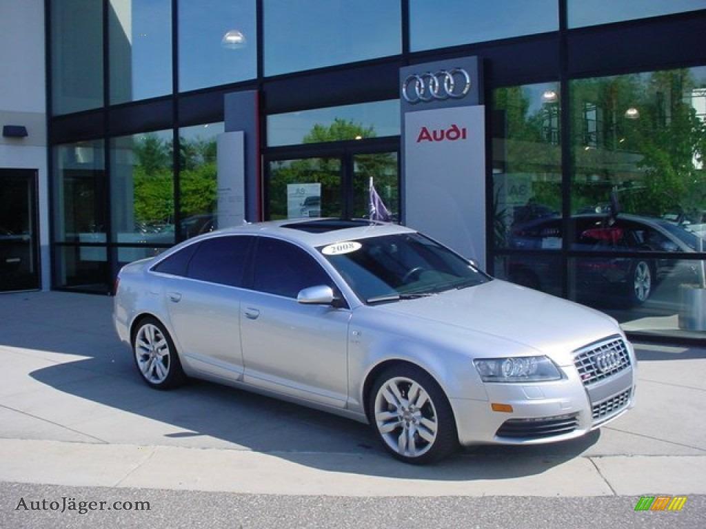 2008 Audi S6 5 2 Quattro Sedan In Light Silver Metallic