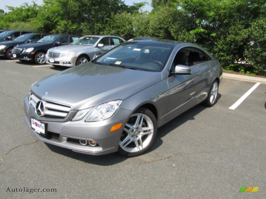 2011 mercedes benz e 350 coupe in palladium silver for Mercedes benz silver
