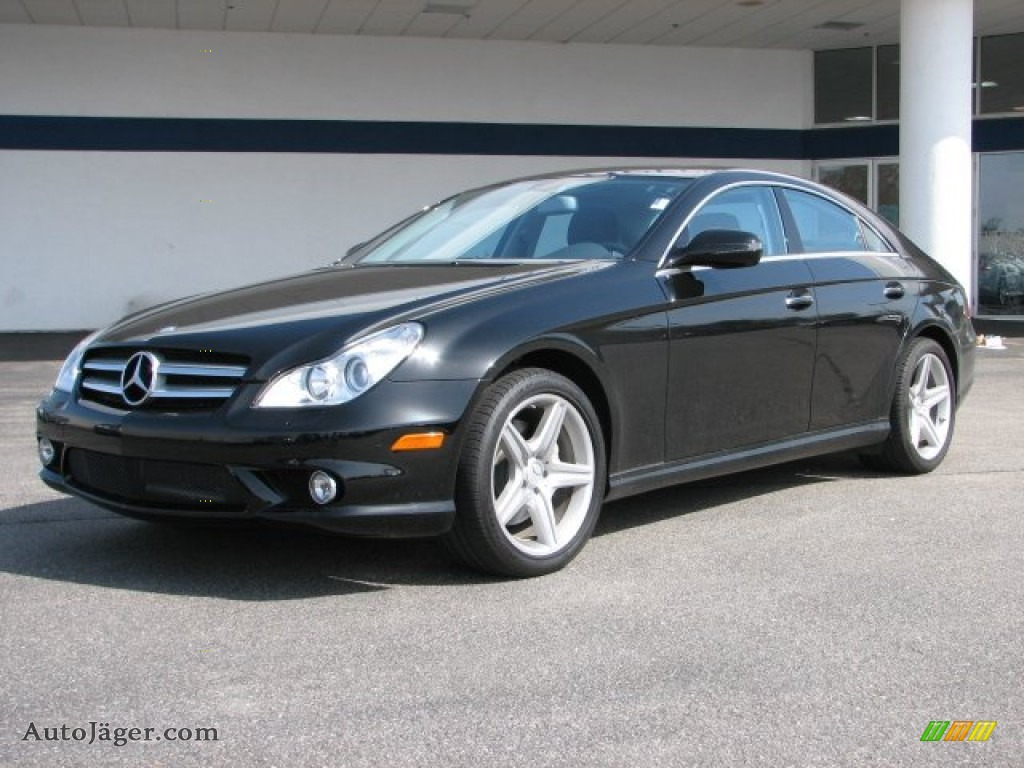 2009 mercedes benz cls 550 in black 143233 auto j ger. Black Bedroom Furniture Sets. Home Design Ideas