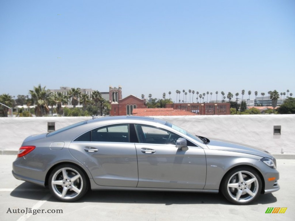 2012 mercedes benz cls 550 coupe in palladium silver metallic photo 3 011992 auto j ger. Black Bedroom Furniture Sets. Home Design Ideas