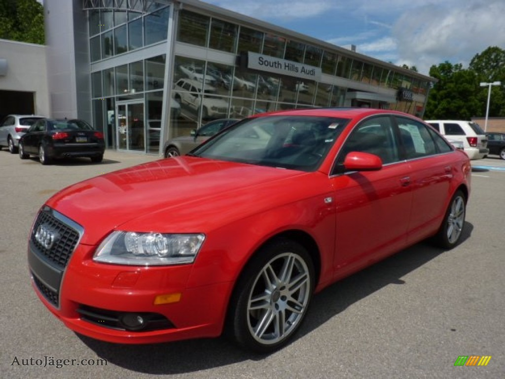 2008 audi a6 3 2 quattro sedan in misano red pearl effect photo 3 006338 auto j ger. Black Bedroom Furniture Sets. Home Design Ideas