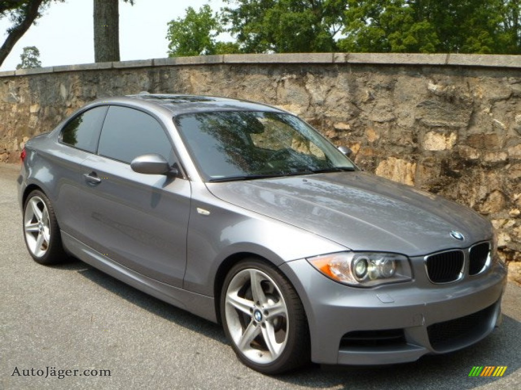 2009 Bmw 1 Series 135i Coupe In Space Grey Metallic