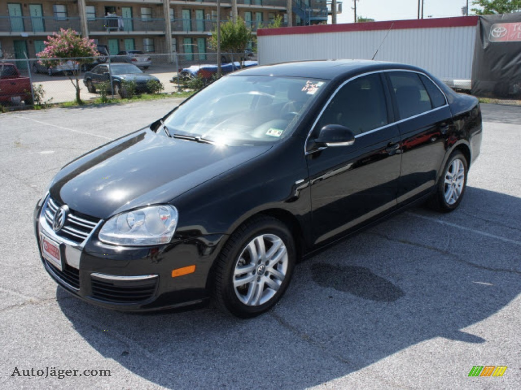 2007 Volkswagen Jetta Wolfsburg Edition Sedan in Black - 199146 ...