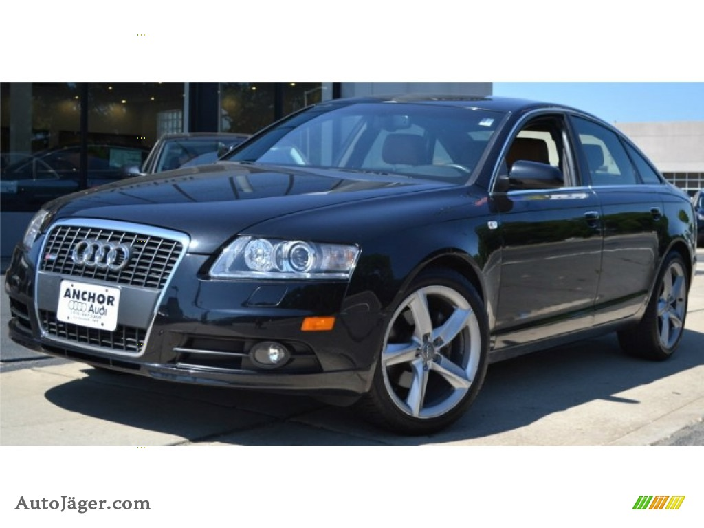 2008 audi a6 3 2 quattro sedan in brilliant black 143188 auto j ger german cars for sale. Black Bedroom Furniture Sets. Home Design Ideas