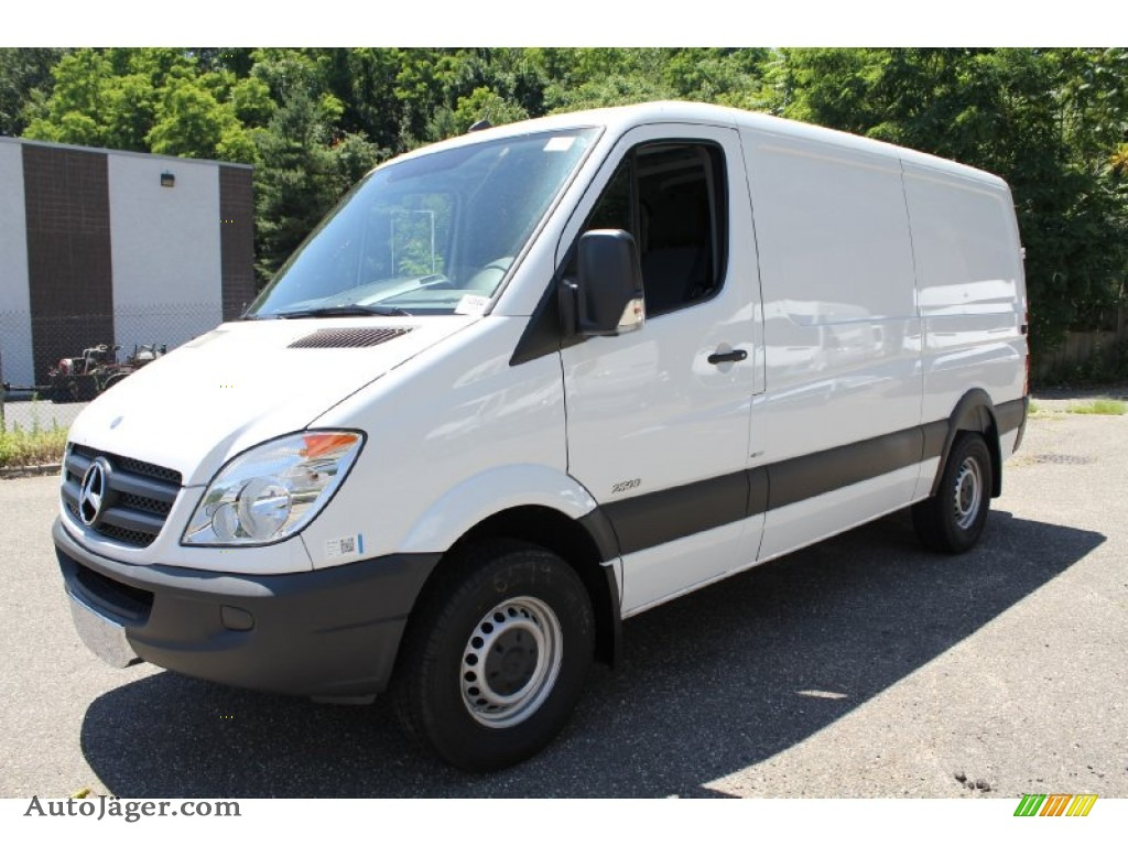 2011 Mercedes Benz Sprinter 2500 Cargo Van In Arctic White