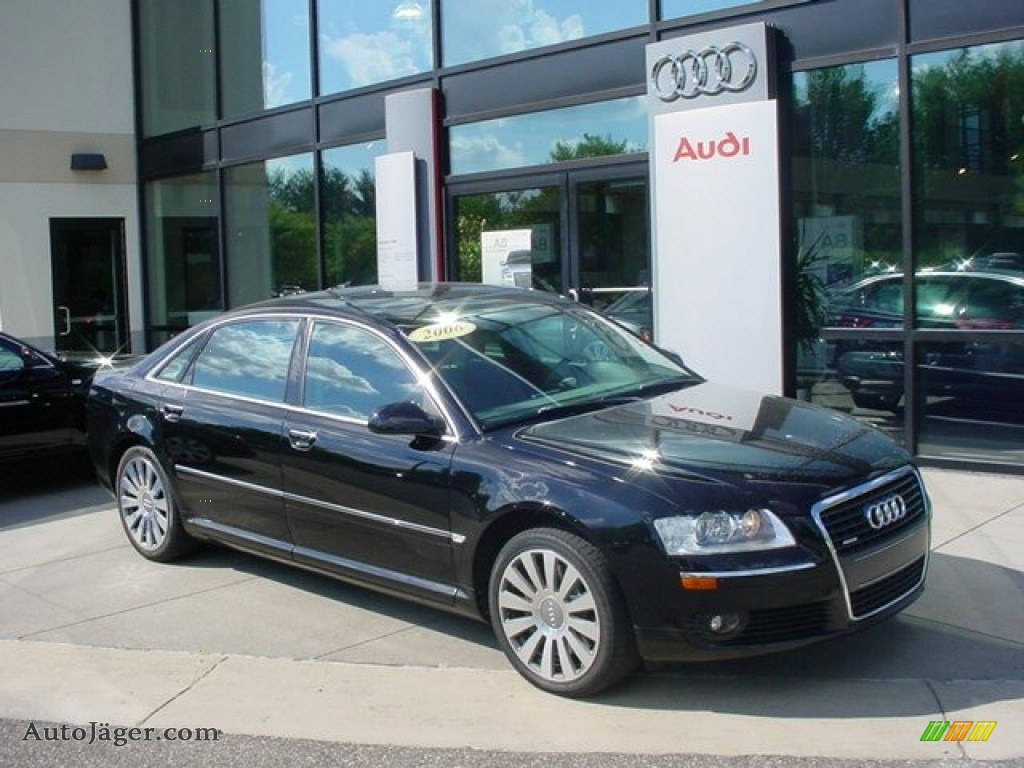2006 Audi A8 L 4 2 Quattro In Brilliant Black 020479