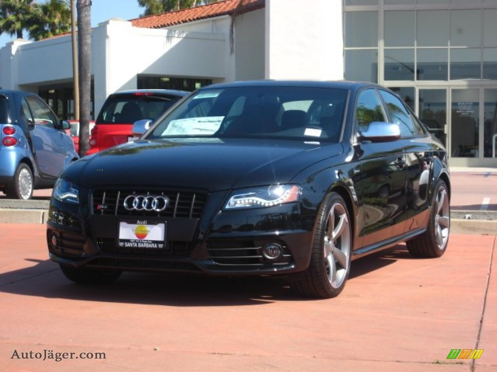 2011 Audi S4 3 0 Quattro Sedan In Phantom Black Pearl