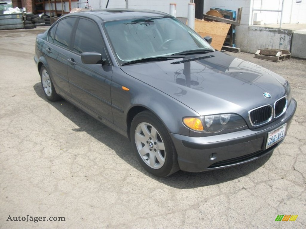 2003 Bmw 3 Series 325i Sedan In Steel Grey Metallic