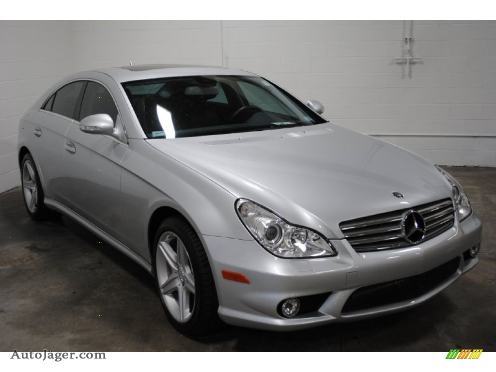 2008 mercedes benz cls 550 in iridium silver metallic for Cls mercedes benz for sale