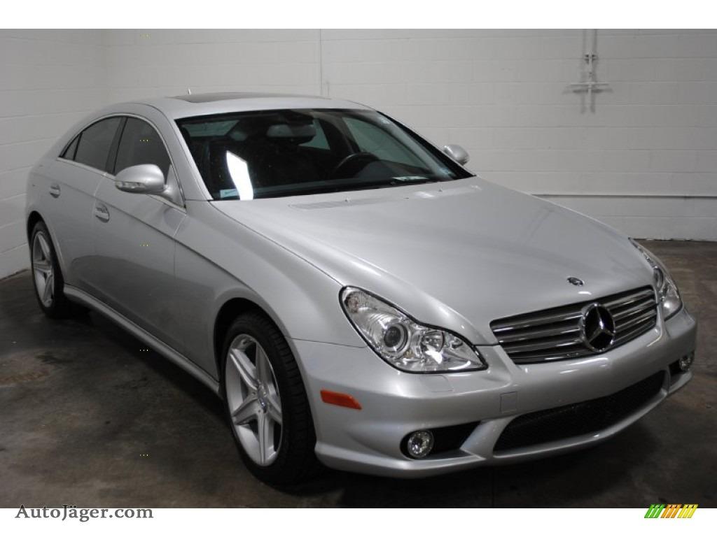 2008 mercedes benz cls 550 in iridium silver metallic for Mercedes benz cls for sale