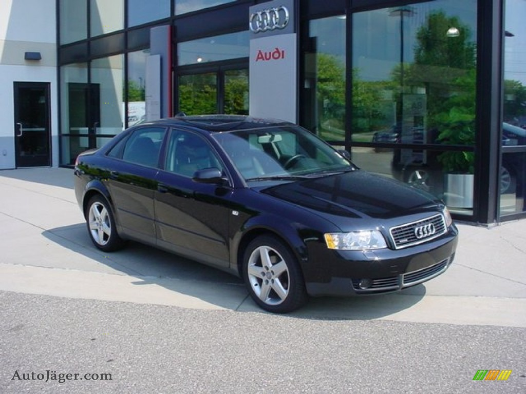 2004 audi a4 1.8t quattro sedan in brilliant black - 019744 | auto