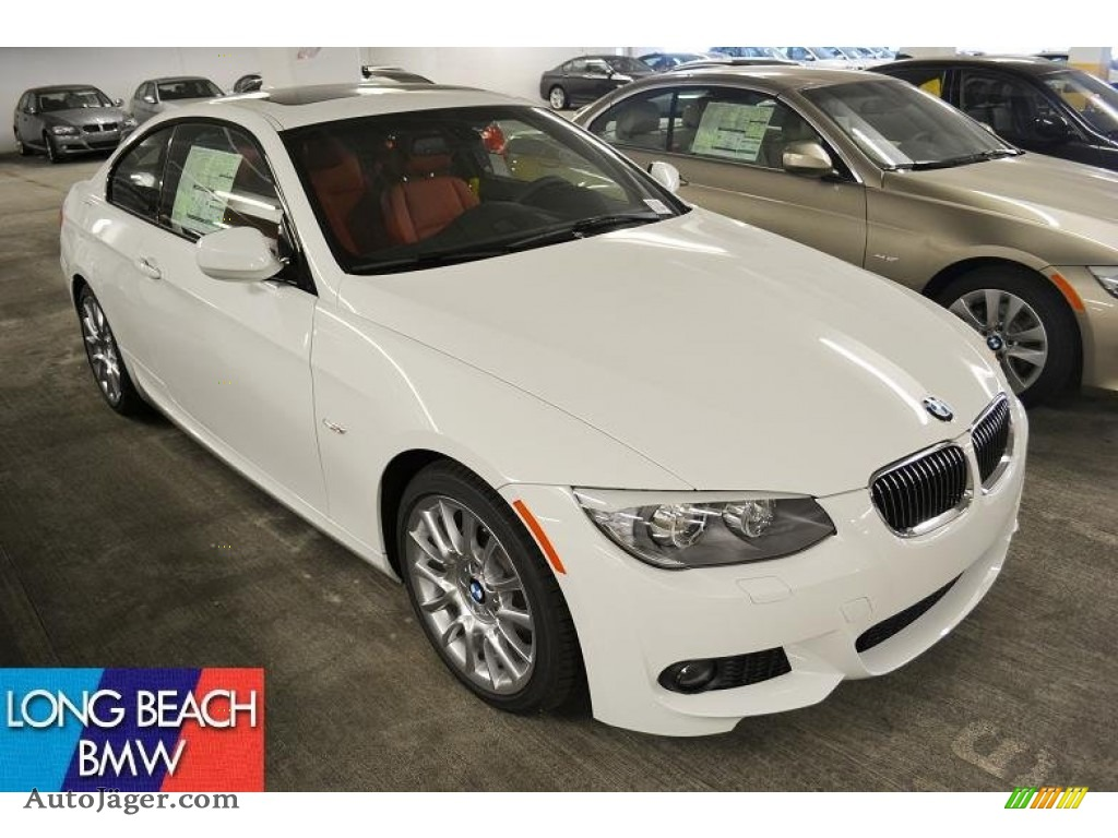 2011 BMW 3 Series 328i Coupe in Alpine White 755107 Auto Jger