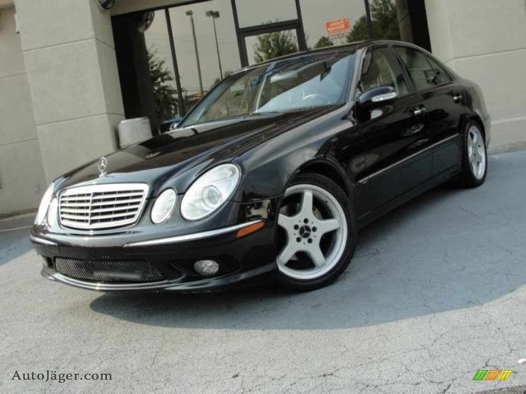 2004 mercedes benz e 500 sedan in black 600653 auto for Simonson mercedes benz