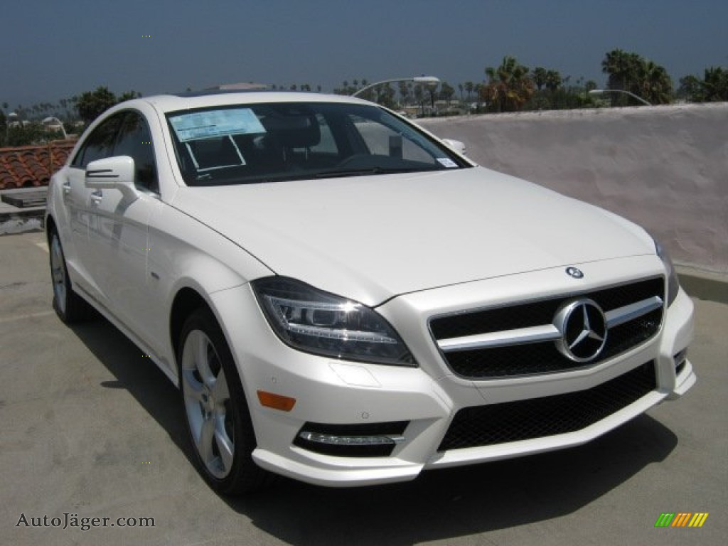 2012 mercedes benz cls 550 coupe in diamond white metallic 015961 auto j ger german cars. Black Bedroom Furniture Sets. Home Design Ideas