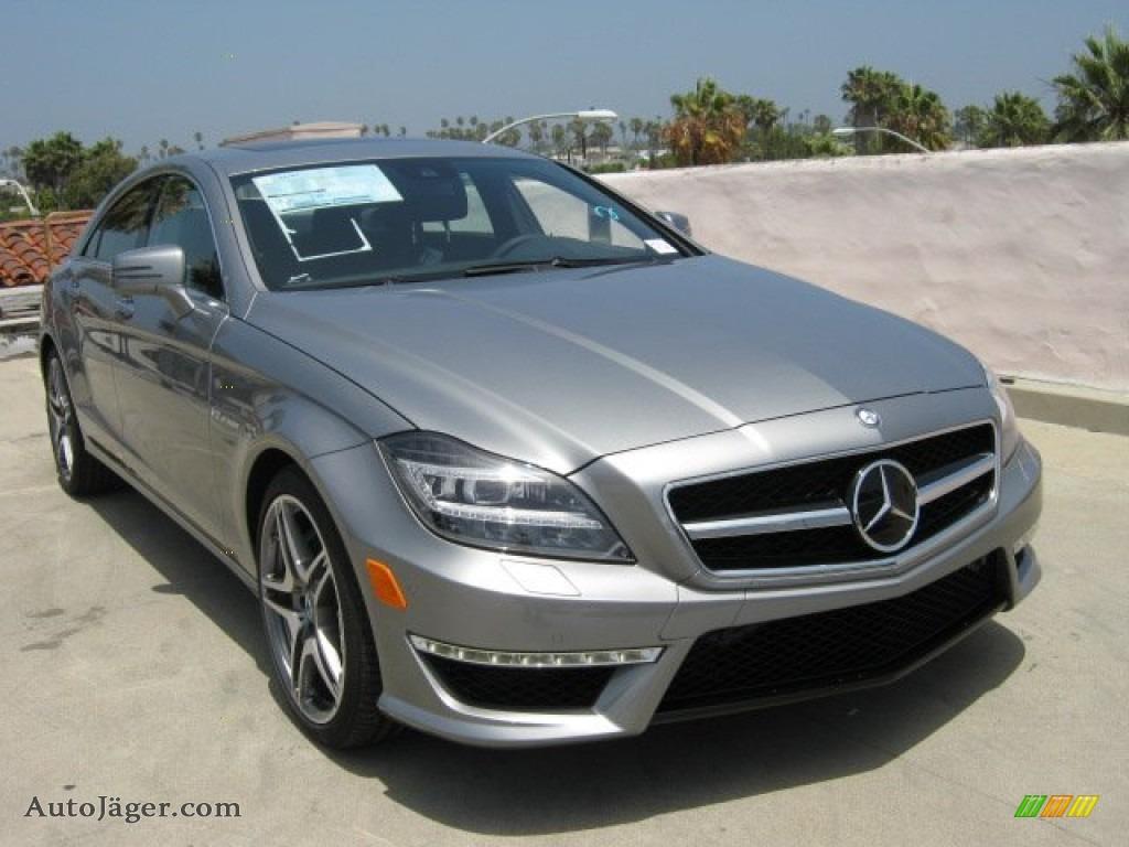 2012 mercedes benz cls 63 amg in palladium silver metallic for Mercedes benz cls amg for sale