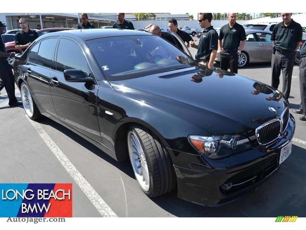 BMW Series Alpina B In Jet Black T Auto Jäger - 2007 bmw b7 alpina for sale