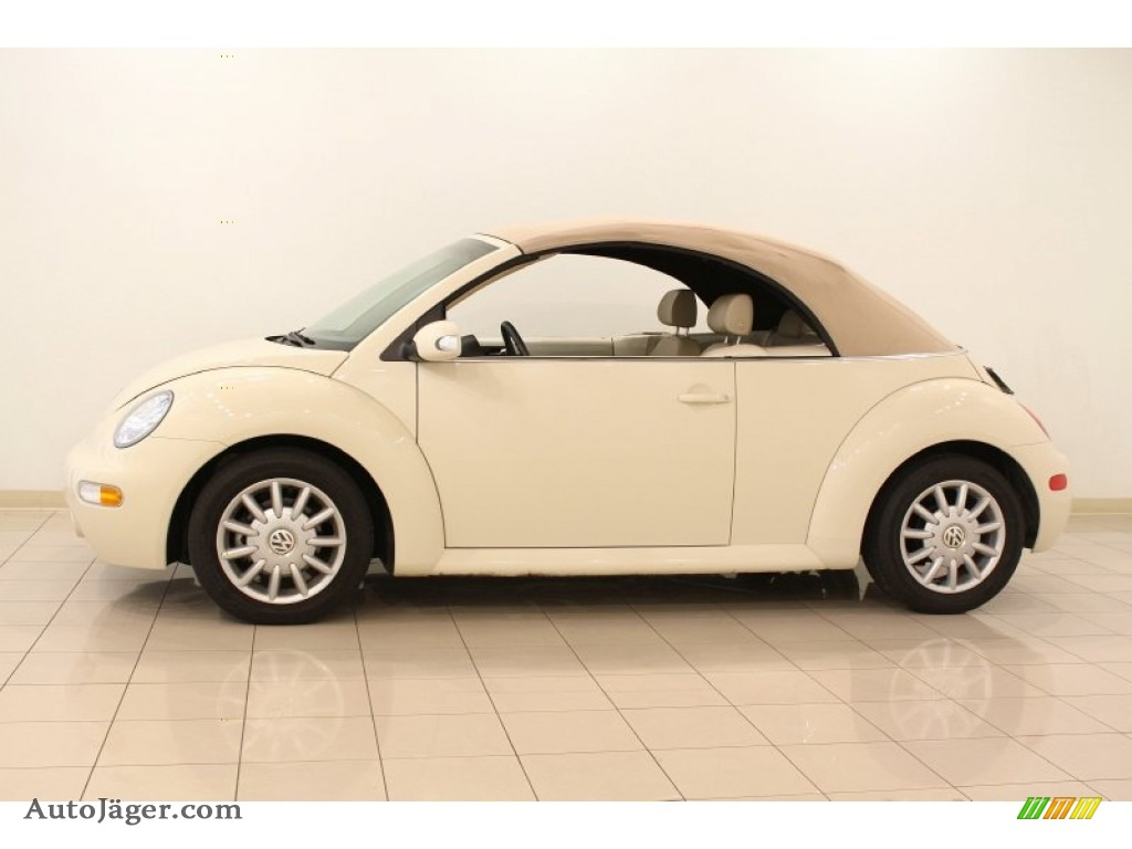 2005 volkswagen new beetle gls convertible in harvest moon beige photo 5 368318 auto j ger. Black Bedroom Furniture Sets. Home Design Ideas