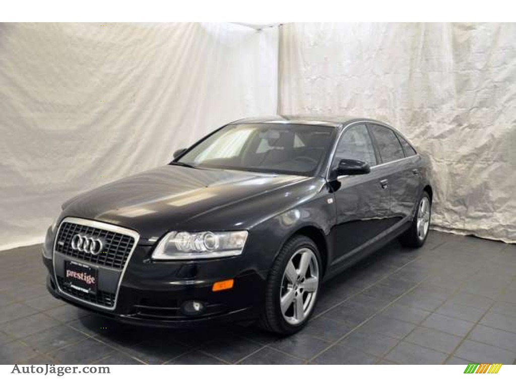 2008 audi a6 3 2 quattro sedan in brilliant black 058502 auto j ger german cars for sale. Black Bedroom Furniture Sets. Home Design Ideas