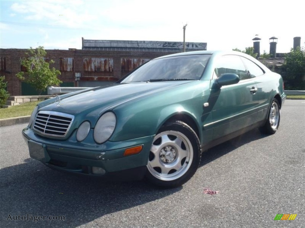 1999 mercedes benz clk 320 coupe in mineral green metallic for 1999 mercedes benz clk320 for sale