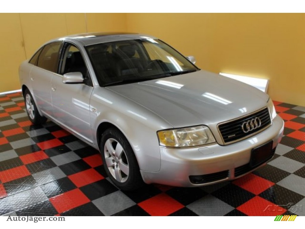 Light Silver Metallic / Ebony Audi A6 3.0 quattro Sedan