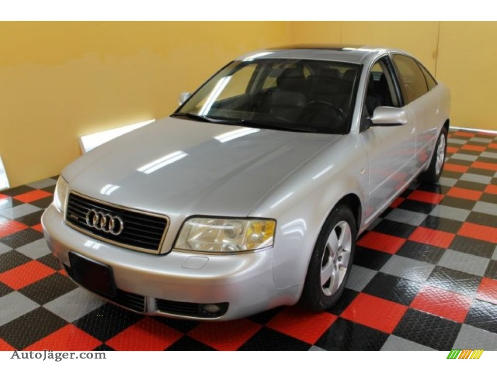 2003 A6 3.0 quattro Sedan - Light Silver Metallic / Ebony photo #2