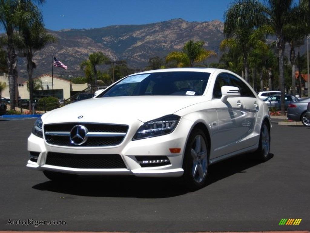 2012 mercedes benz cls 550 coupe in diamond white metallic for Mercedes benz cls sale