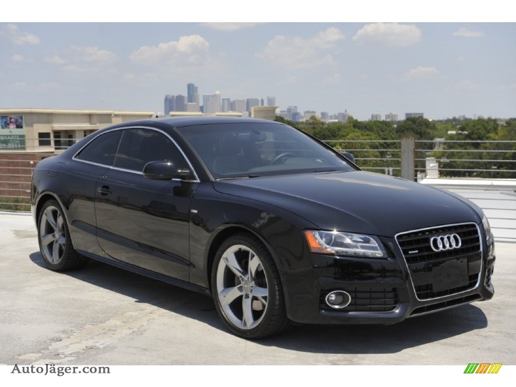 2010 Audi A5 3 2 Quattro Coupe In Brilliant Black 061209