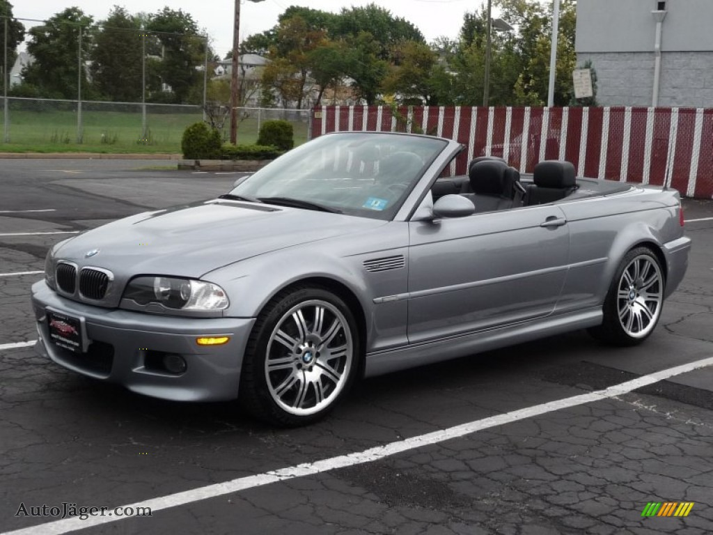 2005 bmw m3 convertible in silver grey metallic photo 5 k09292 auto j ger german cars for. Black Bedroom Furniture Sets. Home Design Ideas