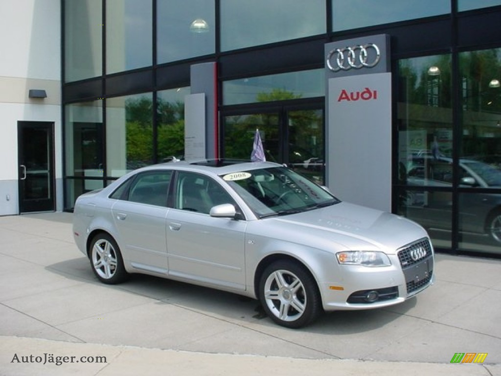 2008 Audi A4 2 0t Quattro S Line Sedan In Light Silver