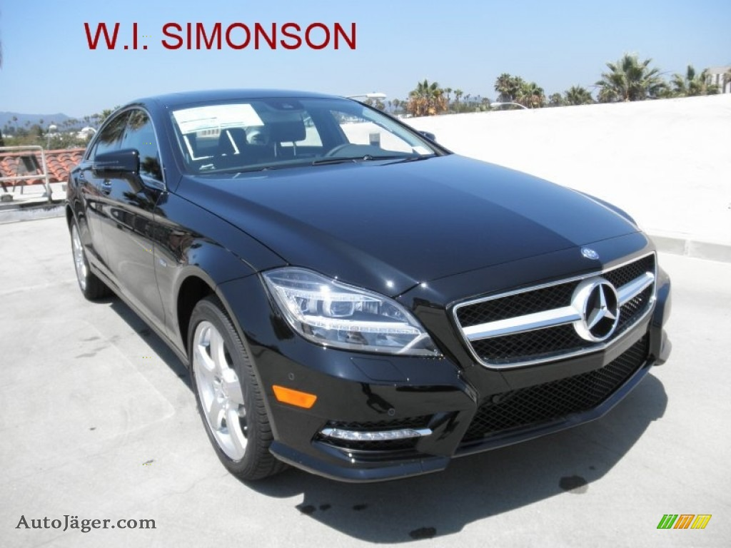 2012 mercedes benz cls 550 coupe in black 017063 auto for Simonson mercedes benz