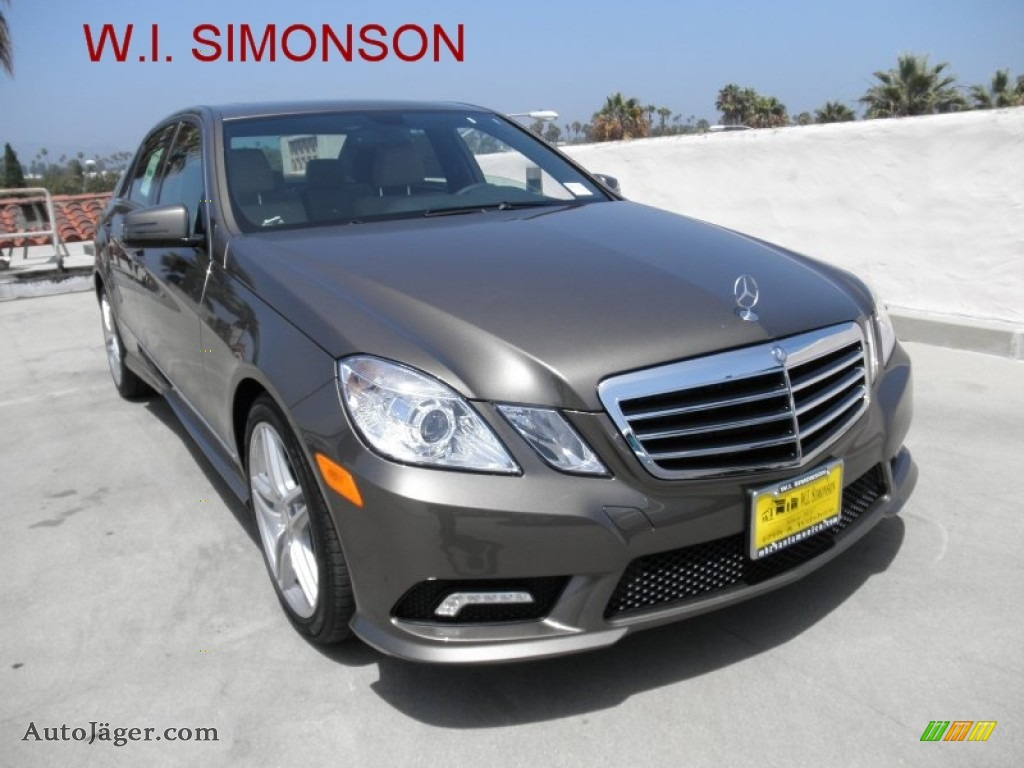 2011 mercedes benz e 350 sedan in indium grey metallic for Simonson mercedes benz