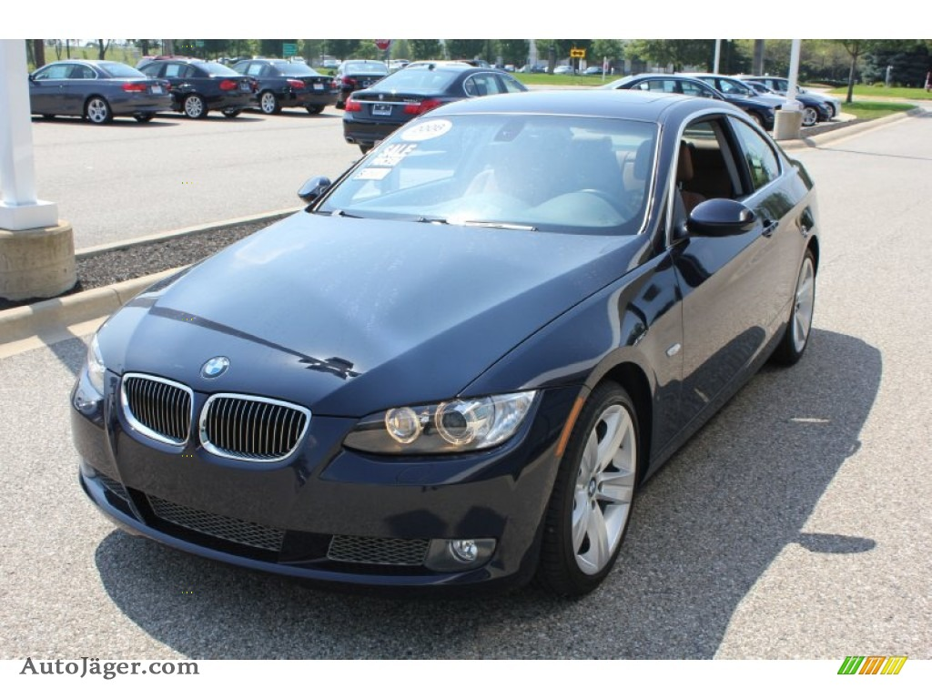 2008 bmw 3 series 335xi coupe in monaco blue metallic 062875 auto j ger german cars for. Black Bedroom Furniture Sets. Home Design Ideas