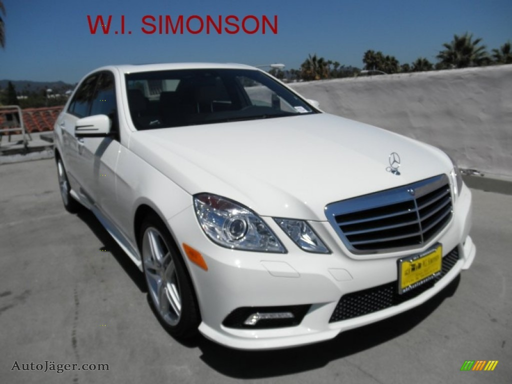 2011 mercedes benz e 350 sedan in arctic white 469998 for Simonson mercedes benz