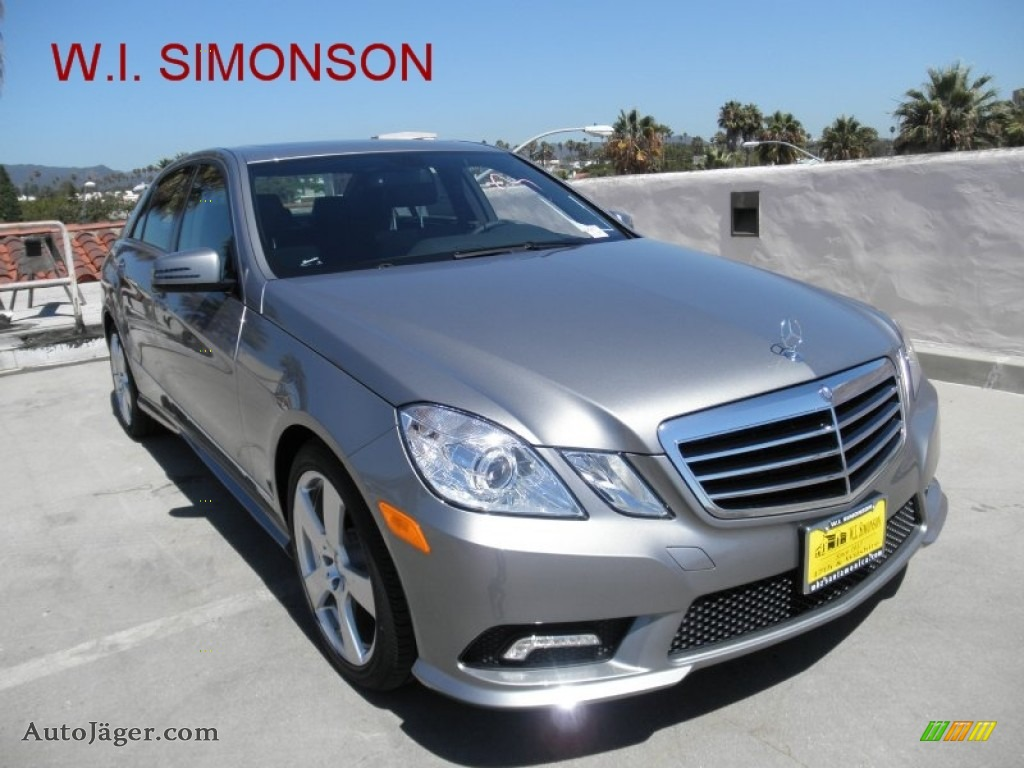 2011 mercedes benz e 350 sedan in palladium silver for Simonson mercedes benz
